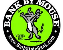 bank by mouse logo with mouse