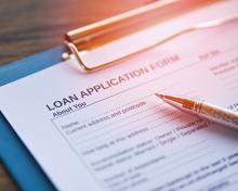 paper loan application