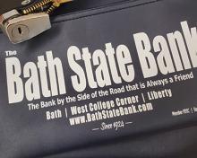 bank bag for transporting cash and checks