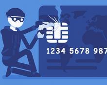 fraudster stealing card