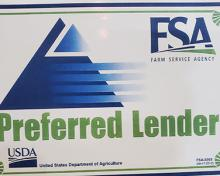 preferred lender program usda logo