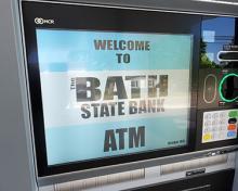 bath state bank atm screen