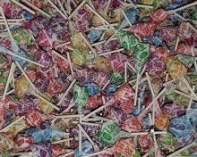 lolly pops in assorted flavors